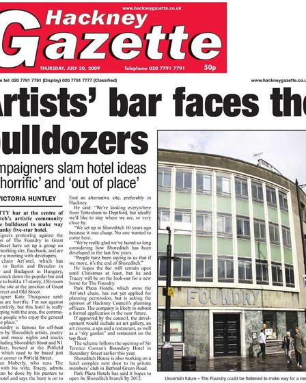 The Gazette's coverage of The Foundry closure, which was met with protests.