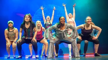City workers took part in a show to raise money to send children affected by cancer to the Anna Fior