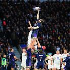 England and Scotland drew 38-38 in a classic Guinness Six Nations encounter on Saturday (pic: Gareth