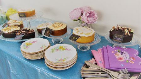 Plenty of cakes to eat at the Wellbeing Day Centre open day. Picture: Daniella Penedo