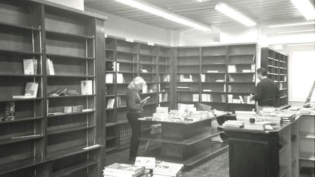 West End Lane books before it opened in 1994. Picture: West End Lane Books