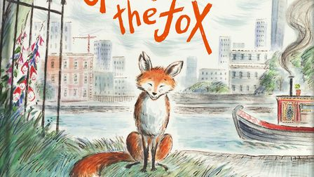 The front cover for Zeb Soanes' first Gaspard The Fox book. Picture: James Mayhew/Graffeg Ltd