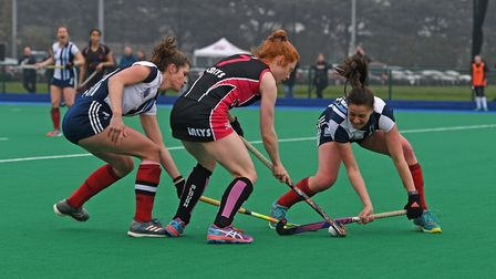 Action from Hampstead & Westminster's clash with Slough (pic Andy Smith)