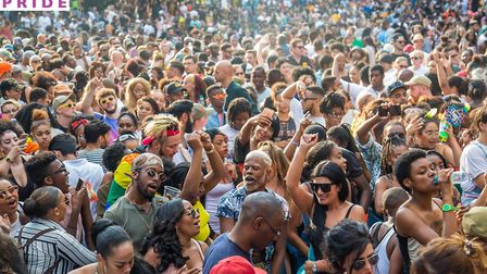 Haggerston Park will be hosting black pride this year. Picture: BLACK PRIDE