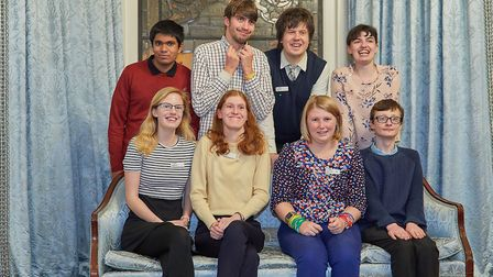 Ambitious About Autism's youth patrons. Picture: Phil Ashley