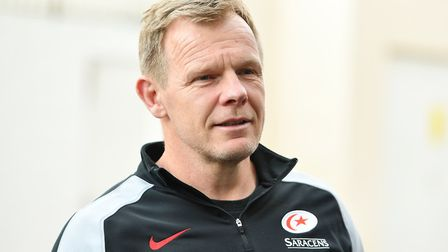 Saracens Director of Rugby Mark McCall (pic Simon Galloway/PA)