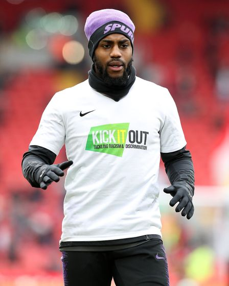 Tottenham Hotspur's Danny Rose has spoken out against racist abuse he has received (pic Martin Ricke