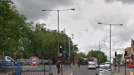 The incident started near Manor House Tube station before progessing via Hermitage Road into Vale Gr
