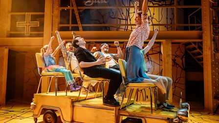 Little Miss Sunshine at the Arcola Theatre. Picture: Manuel Harlan.