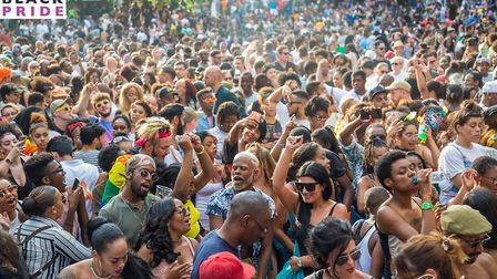 Black pride is coming to Haggerston Park this year. Picture: Black Pride