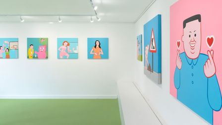 I'm Good Thanks features a body of new work from Spanish illustrator Joan Cornella. Picture: Public