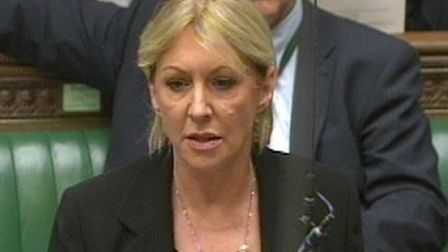 Conservative backbencher Nadine Dorries speaks in the House of Commons. (Photograph: PA Wire)