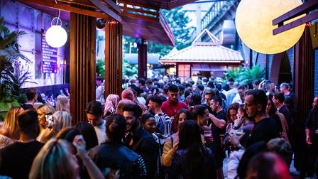 Night Tales was given the Best Outdoor Space in London Award. Picture: Nicky Kelvin.