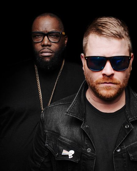 Run The Jewels will also perform at the festival in Victoria Park