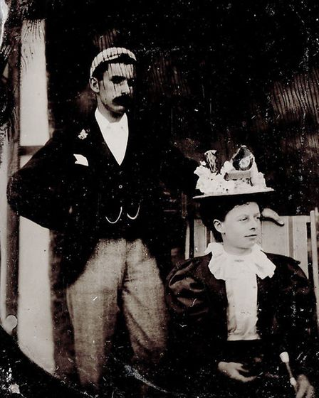 John Wirth's grandfather Frederick with Florence