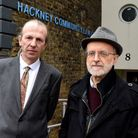 Nathaniel Mathews and Ian Rathbone from Hackney Law Centre. Picture: POLLY HANCOCK
