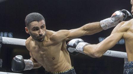 Hackney welterweight Siar Ozgul (pic: Jeff Holmes/PA)