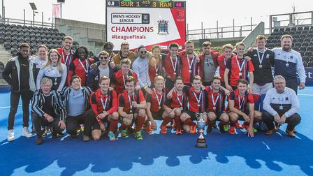 Hampstead & Westminster celebrate (pic Mark Clews)