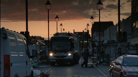 Ridley Road at dusk. The screening will be held in aid of the #SaveRidleyRoad project. Picture: Emma