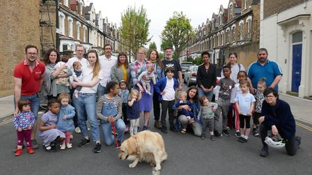 Campaigners in Brighton Road are in support of the road closures . Picture: Anna Williams