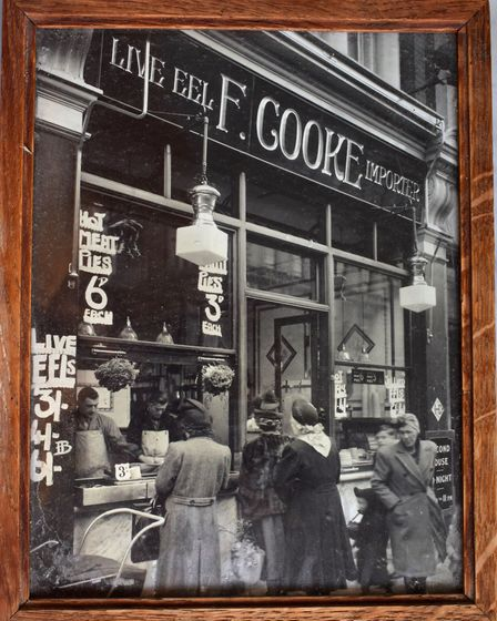 Cooke's Dalston branch in the 50s
