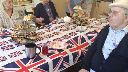 The Royal Wedding was celebrated at Lilac Lodge Care Home. Picture: Courtesy of Lilac Lodge Care Hom