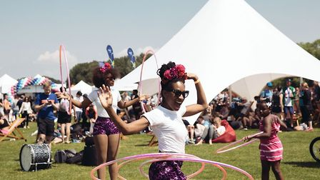 The Festival involves over 72 fitness classes, sessions and workshops over three days. Picture: Virg