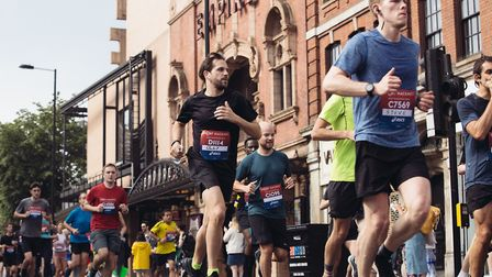 The Half Marathon route takes runners past Hackney Empire. Picture: Virgin Sport.