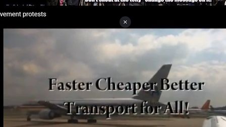 """WORLDwrites gives coverage to a protest calling for """"faster, cheaper and better transport for all"""" a"""