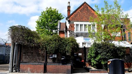 WORLDwrite's HQ at the former disinfectation station lodge in Millfields Road, Lower Clapton. Pictur