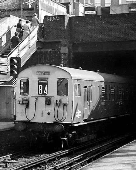 A campaign was run in 1980 to save the North London Line