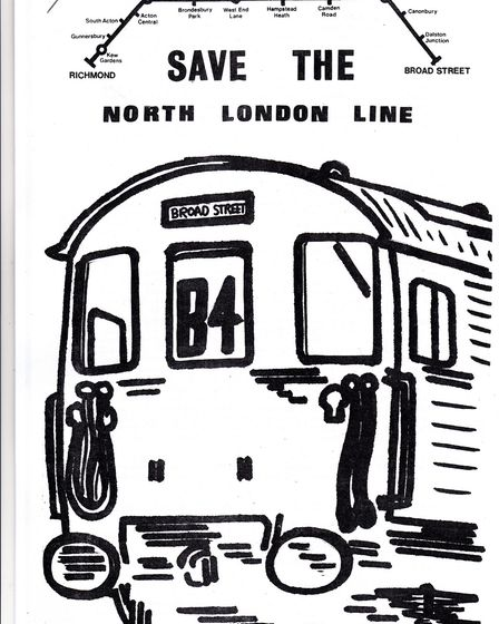 A poster to save the North London Line