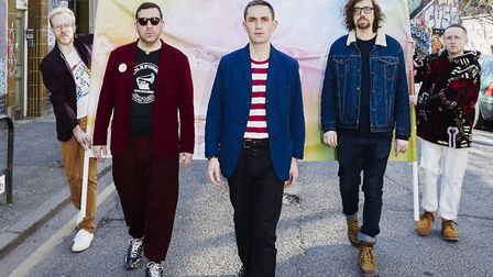 The band have announced an autumn tour to coincide with the release of their new album. Picture: Ron