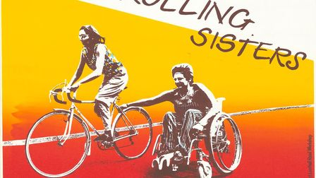 The poster 'rolling sisters' made at the Lenthall Road Workshop. Picture: Lenthall Road Workshop