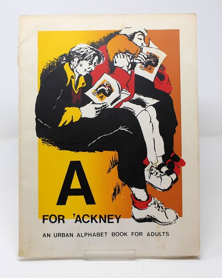 The poster 'A is for Ackney' made at the Lenthall Road Workshop. Picture: Lenthall Road Workshop
