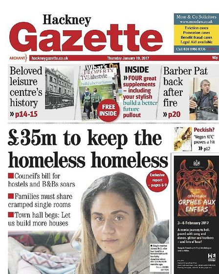 The Gazette's 2017 Hidden Homeless campaign was sparked by a previous death at the hostel. Picture: