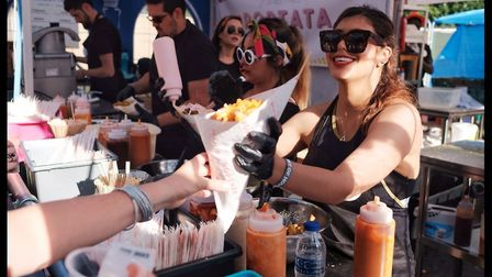 All Points East will be offering a diverse selection of local food, including street fries from Popt