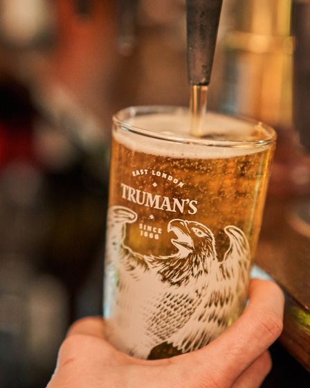 Local brewer Truman's will be serving craft beer on tap throughout the festival
