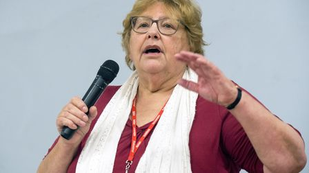 Cllr Zena Brabazon, pictured in November at an event in Tottenham, has been elected as deputy leader