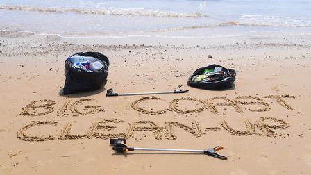 The Big Coast Clean Up campaign. Picture: DENISE BRADLEY