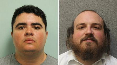Thiago Alves (L) and Michael Scher falsely accused the boys of robbery. Pictures: Met Police