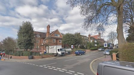 The corner of Greenaway Gardens and Frognal Lane in Hampstead. Picture: Google Maps