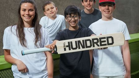 Stoke Newington youngsters helped to launch The Hundred last week (pic: Nathan Gallagher)