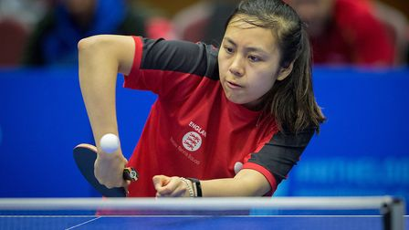 Tin-Tin Ho is in the GB table tennis squad for next month's European Games (pic: Michael Loveder)