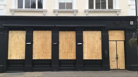 The closed XO restaurant in Belsize Lane