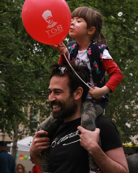 Newington Green hosted hundreds of visitors for a community celebration marking 100 years since the