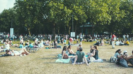 The event comes to Victoria Park in between All Points East 2019's two weekends of music. Picture: R