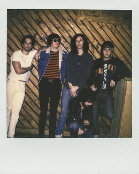 The Strokes will headline on May 25. Image: Pooneh Ghana