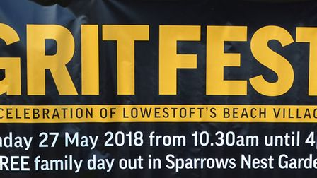 The GritFest - a celebration of Lowestoft's beach village. Pictures: Mick Howes