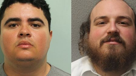 Thiago Alves and Michael Scher were convicted for falsely accusing two teenagers of robbery. Picture